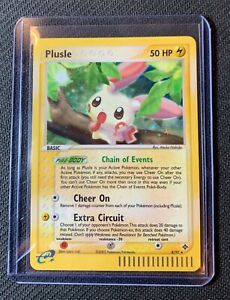 Pokemon Ex Dragon Holo Rare Plusle 8/97 Near Mint PSA Gradable