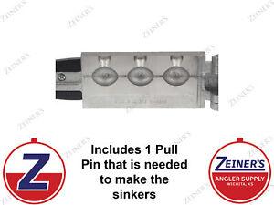 3252 New Do-It Egg Sinker Mold - 2 oz production style