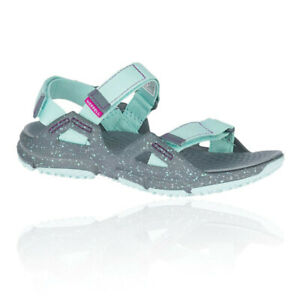 Merrell Womens Hydrotrekker Strap Shoes Sandals Blue Grey Sports Outdoors