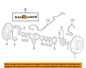 SUBARU OEM 02-05 Impreza Rear-Wheel Cylinder 26256AA012