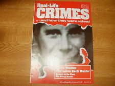 Bertie Manton, REAL CRIME 82, Marilyn Monroe, Abell Ortiz, Robert Joe Lester.
