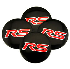 "4pcs RS CAMARO  CHEVY WHEEL CENTER CAP ALUMINUM STICKERS DECAL 56mm 2.2"" EMBLEMS"