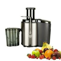 800W Electric Juicer Fruit Vegetable Blender Juice Extractor Citrus Machine New
