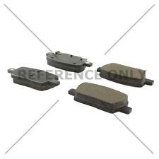 Disc Brake Pad Set-Posi-Quiet Ceramic Disc Brake Pad with Shims-Preferred Rear
