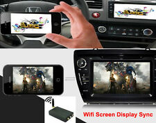 Car WiFi Display Mirror Link Box Miracast DLNA HDMI for Android IOS iPhone 6 7 S