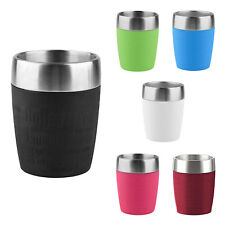 Emsa TRAVEL CUP Isolierbecher Kaffeebecher Eisbecher Thermobecher to go 0,2 L