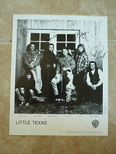 Little Texas 8x10 Country Music Fan Club Photo Picture Page