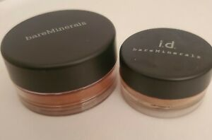bareMinerals id All Over Face Color bronzer contour Powder shade-WARMTH bundle