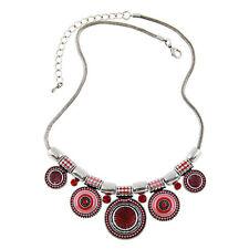 Tribal Boho Gypsy Beachy Ethnic Tribal Turkish Bohemian Statement Coin Necklace