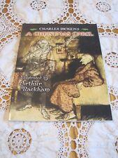 A CHRISTMAS CAROL Charles Dickens Arthur Rackham 2006 SC Dover 1st Edition