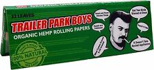 Trailer Park Boys: Organic Hemp Rolling Papers - Green Variant [32-Pack] NEW