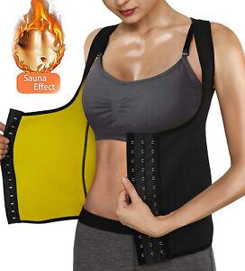 Women Neoprene Body Shaper Sauna Sweat Vest Thermal Belt Girdle Cami Tank Top
