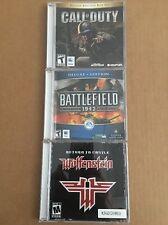 Call Of Duty Deluxe + Battlefield 1942 Deluxe + Return To Castle Wolfenstein Mac