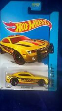 Hot Wheels '10 Camaro SS Yellow Fire Dept Vehicle Diecast 2014 HW City 1:64