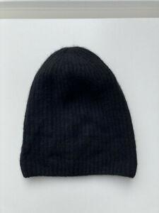 H&M Mütze Cashmere/Wolle schwarz neu