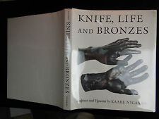 KNIFE, LIFE & BRONZES, SCULPTURE & VIGNETTES by KAARE NYGAARD/BIG 1986 1st