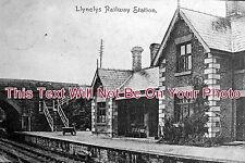 SH 56 - LLynclys Railway Station, Park Newtown, Shropshire - 6x4 Photo