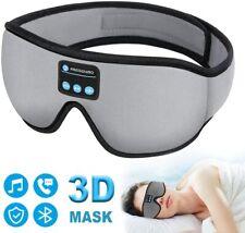 New listing Sleep Headphones Bluetooth Eye Mask 20-28 inches Adjustable Fregenbo Music 3D