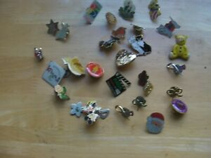 Joblot of 28 x Vintage Charity & Other, Lapel Pin Badges.