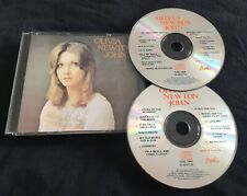 OLIVIA NEWTON JOHN 2 CD FAT BOX 1973 SELF TITLED MADE IN AUSTRALIA **VERY RARE**