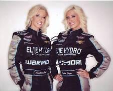ANGELA & AMBER COPE signed autographed NASCAR photo