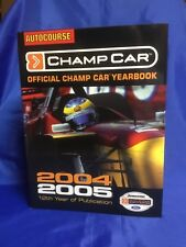 Indianapolis Indy 500 CART CHAMP CAR Official Yearbook 2004-05 Issue NEW!