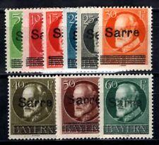 SAAR 1920 18-26 ** POSTFRISCH TADELLOS auf BAYERN (09867