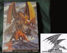 Dark Sword DSM-6003 Elmore Dragon #3 Golden Dragon of Chaos (1) 28mm Miniature
