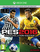 Pro Evolution Soccer Pes 2016 (Football) D1 Day One Edition Xbox One Konami