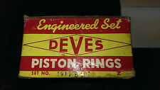 DEVES 1911B-.020  piston rings for Mercerdes 180DC,190d,190DC.200D with 4mm ring