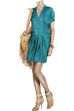 Diane von Furstenberg Swaie Dress Indian Blue 10 US