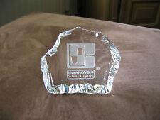 Swarovski dealer plaquette Silver Crystal / Silver Crystal plaque dealer