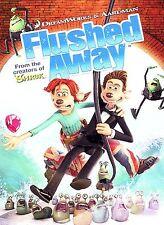 Flushed Away (DVD, 2007, Full Frame)