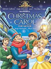 CHRISTMAS CAROL - THE MOVIE DVD NEW