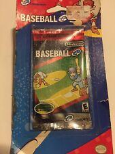 Baseball Nintendo E-reader Game Boy Card 5pk