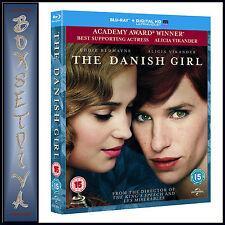 THE DANISH GIRL - Eddie Redmayne & Alicia Vikander   *BRAND NEW BLURAY **