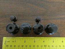 Set of 6 Test Equipment Knobs Genuine Daka-Ware Chicago Vintage