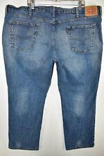 Levi's 541 Athletic Fit Stretch Jeans Mens Size 46x30 Blue Meas. 46x28.5