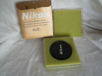 Nikon 62mm Circular Polarizer filter with plastic case & box.