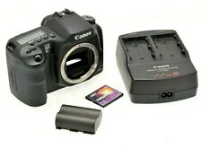 Canon EOS 10D 6.3MP Digital SLR Camera - Black (Body Only) - Fully working