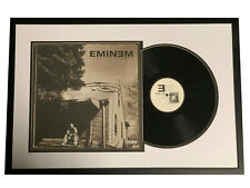 EMINEM SLIM SHADY SIGNED FRAMED THE MARSHALL MATHERS LP ALBUM VINYL BECKETT BAS
