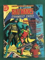 Batman's Strangest Cases - DC C-59 Treasury - FN/VF (7.0) Off-White Pages