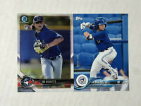 BO BICHETTE LOT OF 2 2018 Bowman Chrome RC #BCP199 + Topps Pro Debut RC #56!