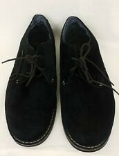 Original Penguin 11 Waylon Black Suede Oxford Dress Shoes Free Ship
