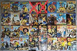 Lotto 30 fumetti TEX (Regolare 400, 500, 575; MAXI 5-20; COLOR 1-10...) Ottimo