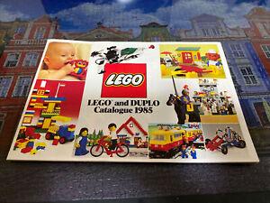 LEGO & DUPLO vintage 1985 Catalogue Brochure Booklet Australia