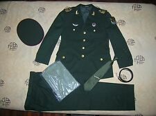 Obsolete 15's China PLA Army Garrison Macao Force Man NCO Uniform,Set