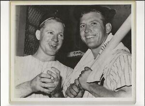Mickey Mantle & Whitey Ford - Beautiful 8x10 Glossy Photo - New York Yankees