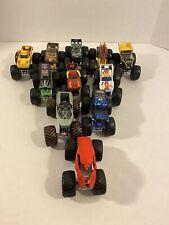 Lot of Hot Wheels Monster Trucks 1:64 Diecast