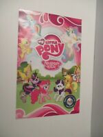 Rare My Little Pony Friendship is Magic Comic Con 2011 Set of Exclusive Posters